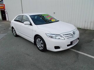 2009 Toyota Camry Altise White 5 Speed Automatic Sedan.