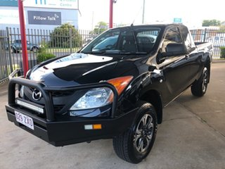 2013 Mazda BT-50 MY13 XT (4x4) Black 6 Speed Manual Freestyle Cab Chassis