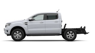 2021 Ford Ranger PX MkIII 2021.25MY XLT Double Cab Arctic White 10 Speed Sports Automatic.