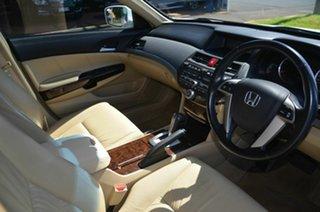 2008 Honda Accord 50 VTi Luxury White 5 Speed Automatic Sedan