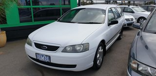 2003 Ford Falcon BA XT White 4 Speed Sports Automatic Wagon