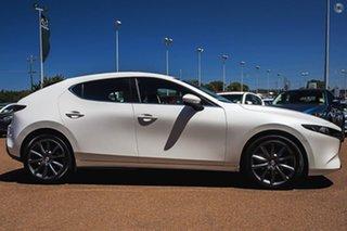 2020 Mazda 3 BP2HLA G25 SKYACTIV-Drive Evolve White 6 Speed Sports Automatic Hatchback