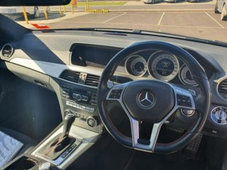 2013 Mercedes-Benz C-Class C204 MY13 C250 CDI 7G-Tronic Black 7 Speed Sports Automatic Coupe