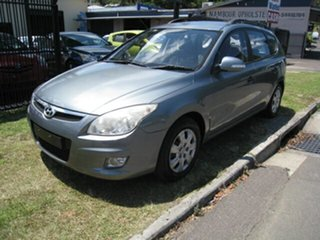 2009 Hyundai i30 FD MY09 CW SX 2.0 Grey 4 Speed Automatic Wagon.