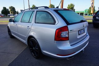 2012 Skoda Octavia 1Z MY13 RS DSG 125TDI Brilliant Silver 6 Speed Sports Automatic Dual Clutch Wagon.
