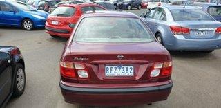 2001 Nissan Pulsar N16 LX Maroon 5 Speed Manual Sedan
