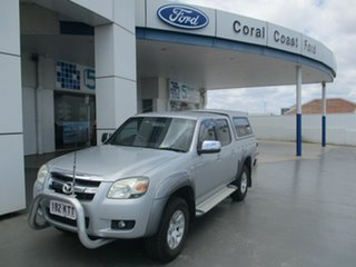 2007 Mazda BT-50 B3000 SDX (4x4) Silver 5 Speed Manual Dual Cab Pick-up.