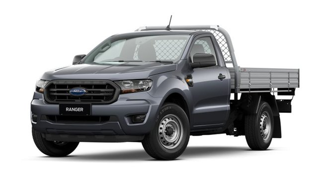 New Ford Ranger PX MkIII 2021.25MY XL West Gosford, 2020 Ford Ranger PX MkIII 2021.25MY XL Meteor Grey 6 Speed Manual Single Cab Chassis