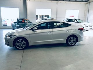 2016 Hyundai Elantra AD MY17 Elite Silver 6 Speed Sports Automatic Sedan