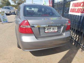 2011 Holden Barina TK MY11 Silver 5 Speed Manual Sedan.