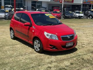 2009 Holden Barina TK MY10 Red 5 Speed Manual Hatchback.