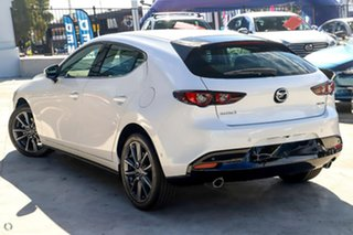2020 Mazda 3 BP2H7A G20 SKYACTIV-Drive Touring White 6 Speed Sports Automatic Hatchback