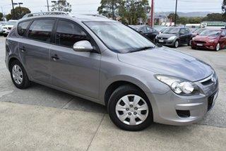 2011 Hyundai i30 FD MY11 SX cw Wagon Grey 4 Speed Automatic Wagon.