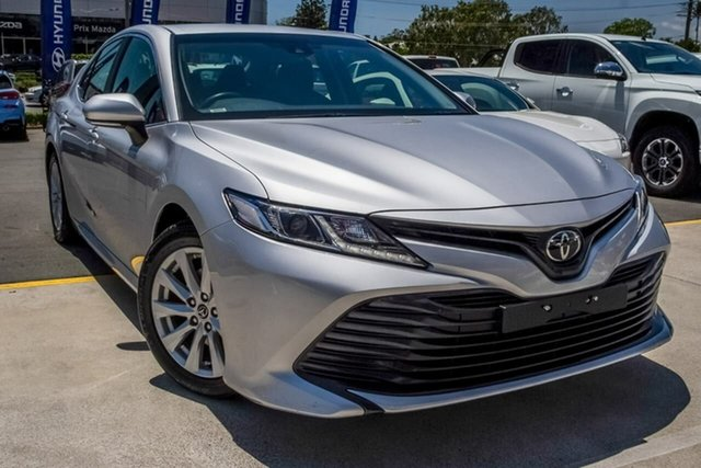 Used Toyota Camry ASV70R Ascent Aspley, 2019 Toyota Camry ASV70R Ascent Silver 6 Speed Sports Automatic Sedan