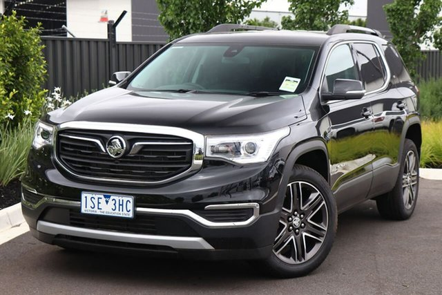 Used Holden Acadia AC MY19 LT AWD Essendon Fields, 2019 Holden Acadia AC MY19 LT AWD Black 9 Speed Sports Automatic Wagon