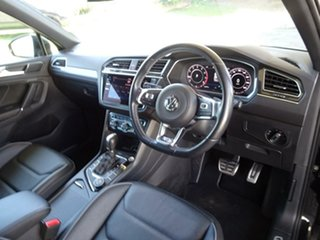 2018 Volkswagen Tiguan 5N MY18 162TSI DSG 4MOTION Highline Deep Black Pearl 7 Speed