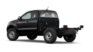 2021 Ford Ranger PX MkIII 2021.25MY XL Black 6 Speed Sports Automatic Super Cab Chassis.