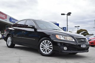 2010 Hyundai Grandeur TG MY11 Black 5 Speed Sports Automatic Sedan.