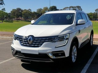 2020 Renault Koleos HZG MY20 Life X-tronic White Solid 1 Speed Constant Variable Wagon