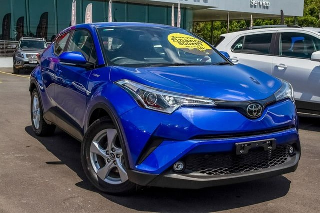 Used Toyota C-HR NGX10R S-CVT 2WD Aspley, 2018 Toyota C-HR NGX10R S-CVT 2WD Blue 7 Speed Constant Variable Wagon
