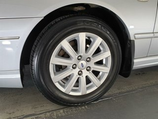 2006 Ford Fairmont BF Silver 4 Speed Sports Automatic Sedan