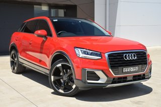 2019 Audi Q2 GA MY19 35 TFSI S Tronic design Red 7 Speed Sports Automatic Dual Clutch Wagon.