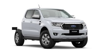 2021 Ford Ranger PX MkIII 2021.25MY XLT Double Cab Arctic White 10 Speed Sports Automatic