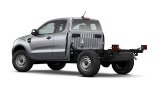 2021 Ford Ranger PX MkIII 2021.25MY XL Aluminium Silver 6 Speed Sports Automatic Super Cab Chassis.