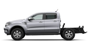 2021 Ford Ranger PX MkIII 2021.25MY XLT Double Cab Aluminium Silver 6 Speed Sports Automatic