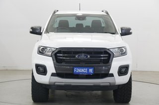 2019 Ford Ranger PX MkIII 2019.75MY Wildtrak White 10 Speed Sports Automatic Double Cab Pick Up