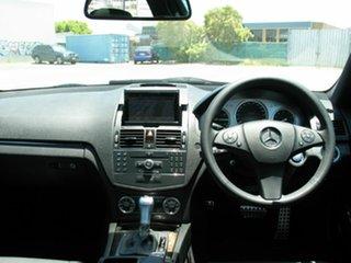 2007 Mercedes-Benz C280 W204 Avantgarde Black 7 Speed Automatic G-Tronic Sedan
