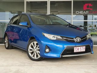 2012 Toyota Corolla ZRE182R Levin SX Blue 6 Speed Manual Hatchback.