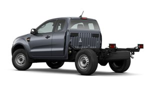 2021 Ford Ranger PX MkIII 2021.25MY XL Meteor Grey 6 Speed Sports Automatic Super Cab Chassis.