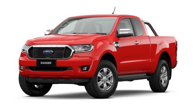 New Ford Ranger PX MkIII 2021.75MY XLT Homebush, 2021 Ford Ranger PX MkIII 2021.75MY XLT True Red 6 Speed Sports Automatic Super Cab Pick Up