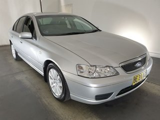 2006 Ford Fairmont BF Silver 4 Speed Sports Automatic Sedan.