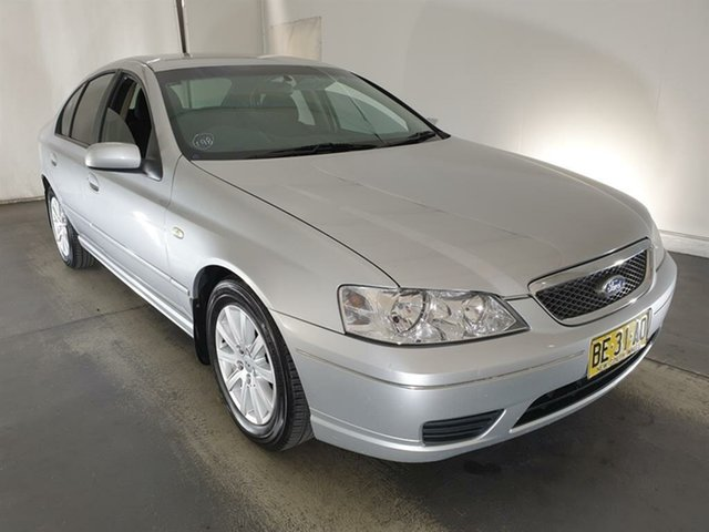 Used Ford Fairmont BF Maryville, 2006 Ford Fairmont BF Silver 4 Speed Sports Automatic Sedan