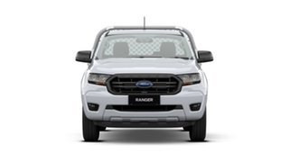 2020 Ford Ranger PX MkIII 2021.25MY XL Arctic White 6 Speed Manual Single Cab Chassis.