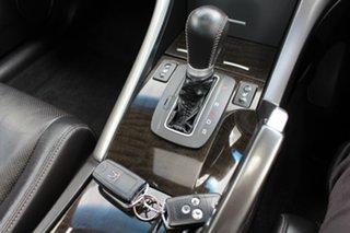 2012 Honda Accord Euro CU MY12 Luxury Silver 5 Speed Automatic Sedan
