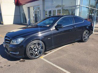2013 Mercedes-Benz C-Class C204 MY13 C250 CDI 7G-Tronic Black 7 Speed Sports Automatic Coupe.