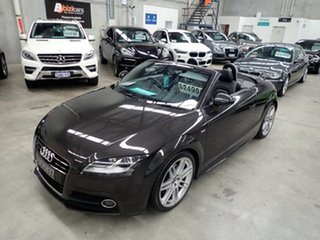 2011 Audi TT 8J MY12 S Tronic Quattro Charcoal Metalic 6 Speed Sports Automatic Dual Clutch Roadster.