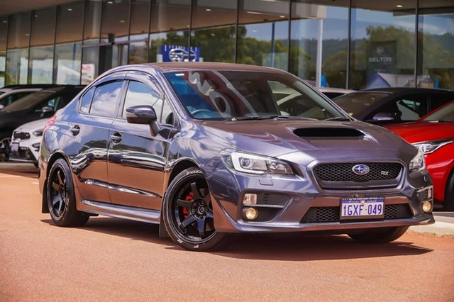 Used Subaru WRX V1 MY15 Lineartronic AWD Gosnells, 2014 Subaru WRX V1 MY15 Lineartronic AWD Grey 8 Speed Constant Variable Sedan