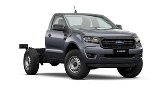 2020 Ford Ranger PX MkIII 2021.25MY XL Hi-Rider Grey 6 Speed Sports Automatic Single Cab Chassis