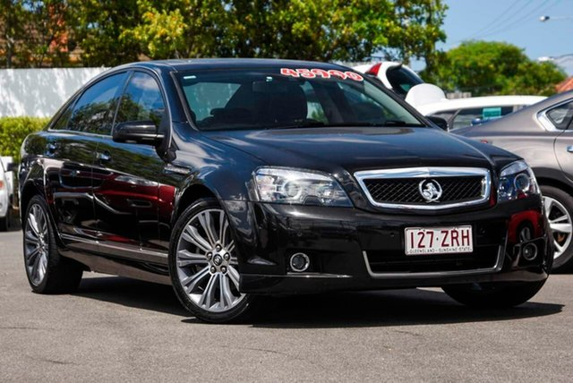 Used Holden Caprice WN MY15 V Mount Gravatt, 2015 Holden Caprice WN MY15 V Black 6 Speed Sports Automatic Sedan