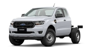 2020 Ford Ranger PX MkIII 2021.25MY XL White 6 Speed Manual Super Cab Chassis