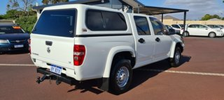 2010 Holden Colorado RC MY10 LX Crew Cab 4x2 White 4 Speed Automatic Utility