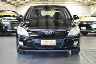 2010 Hyundai i30 FD MY10 SLX Black 5 Speed Manual Hatchback.
