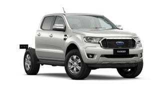 2021 Ford Ranger PX MkIII 2021.25MY XLT Double Cab White 10 Speed Sports Automatic