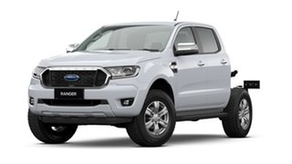 2021 Ford Ranger PX MkIII 2021.25MY XLT Double Cab Arctic White 6 Speed Sports Automatic.