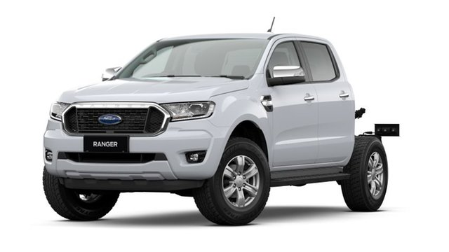 New Ford Ranger PX MkIII 2021.25MY XLT Double Cab Rutherford, 2020 Ford Ranger PX MkIII 2021.25MY XLT Double Cab Arctic White 6 Speed Sports Automatic