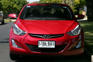 2013 Hyundai Elantra MD3 Trophy Red 6 Speed Sports Automatic Sedan